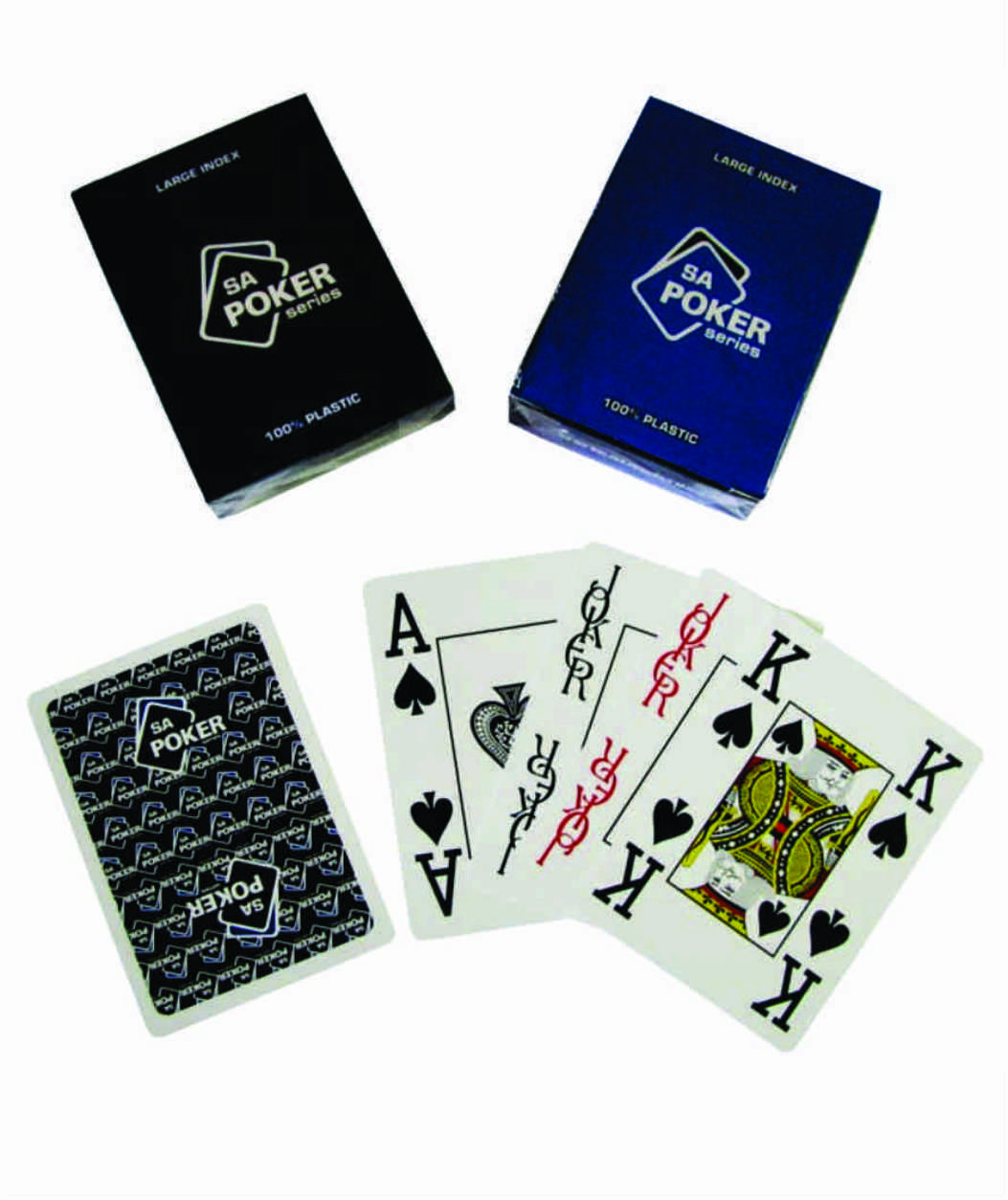 Sa Poker Series Cards Blue Sa Poker Shop